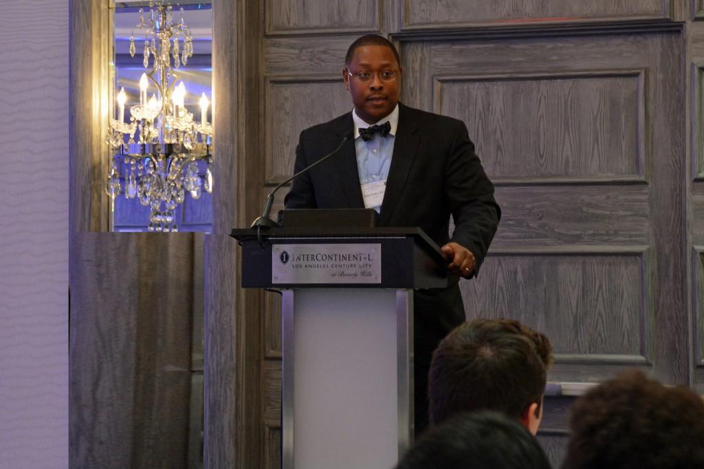 Keynote speaker Dr. James Luther Moore, III
