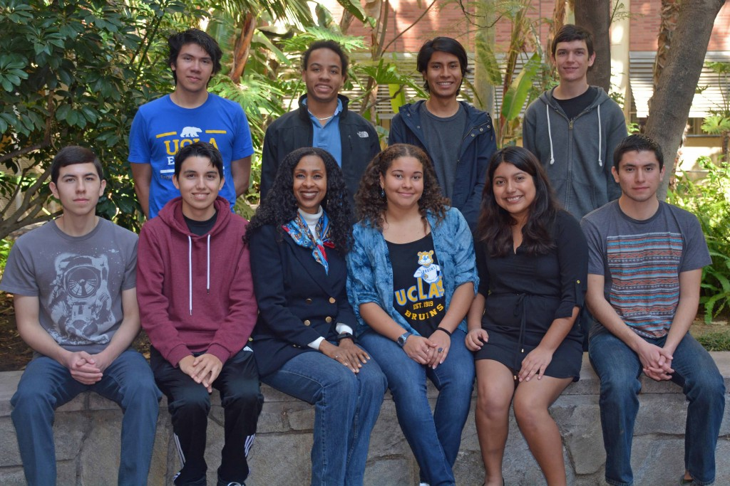 The UCLA Bruin Rocketeer Team