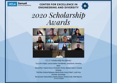 Clay Scholarship Recipients