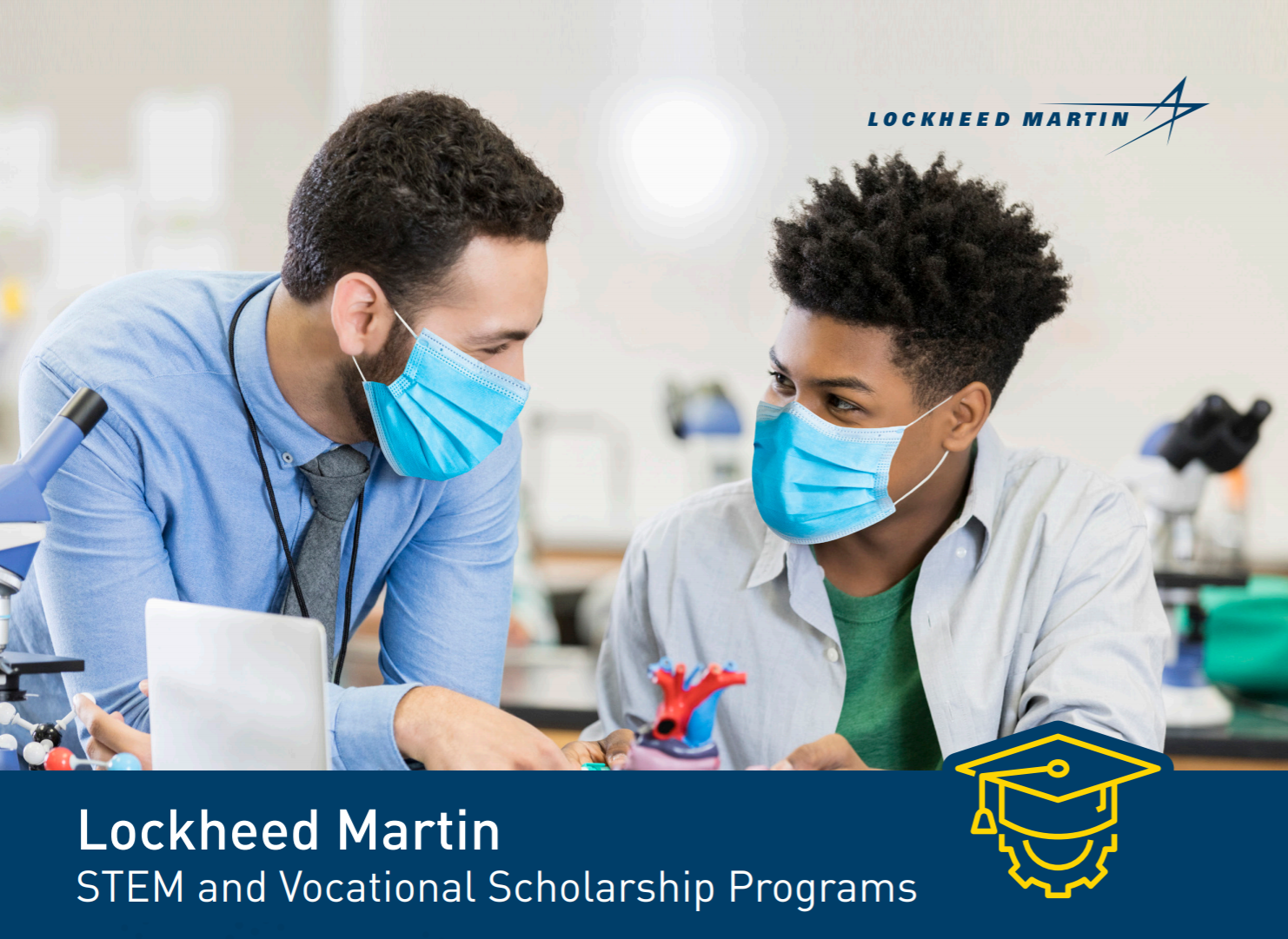 Lockheed Martin STEM and Vocational Scholarship Programs